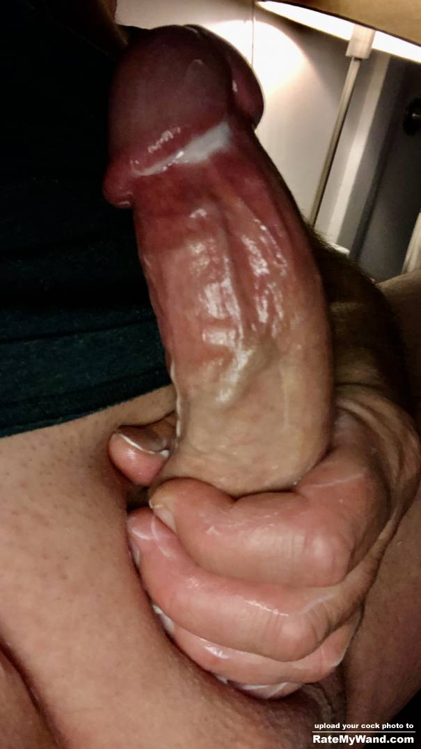 Who wants to stroke my big fat cock for me - Rate My Wand