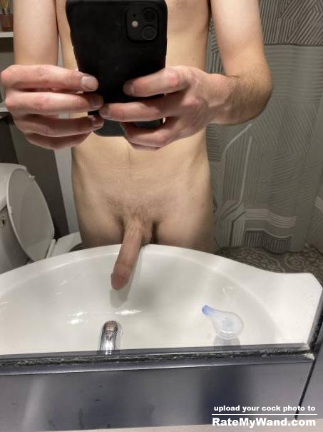 Trimmed my pubes what do yall think? - Rate My Wand