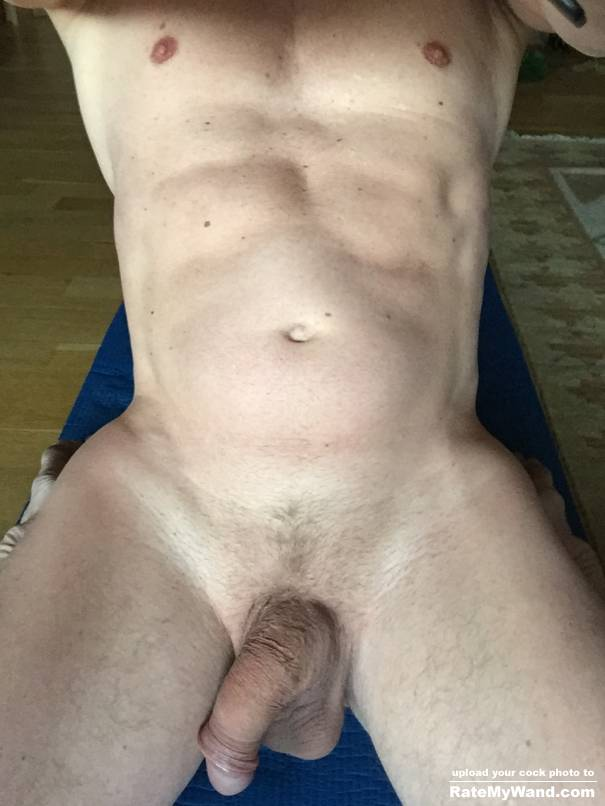 Doing morning yoga. Need someone to give me a hard Full body massage - Rate My Wand